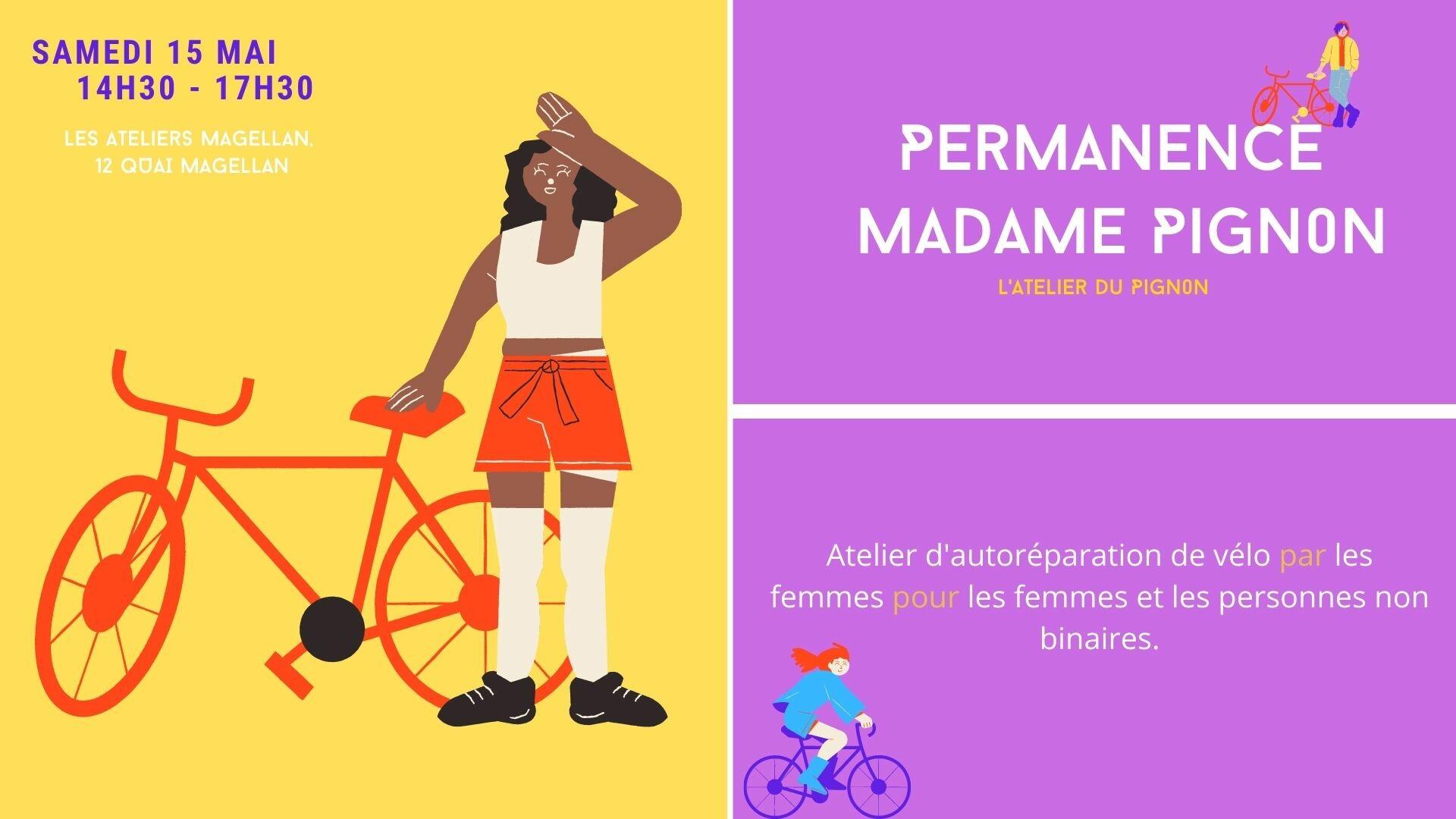 Permanence de Madame Pignon