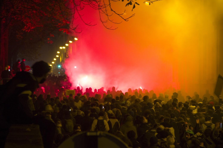 """[MARCHE DES LIBERTES] Les Nantais·e·s mobilisé·e·s contre la loi """"sécurité globale"""""""