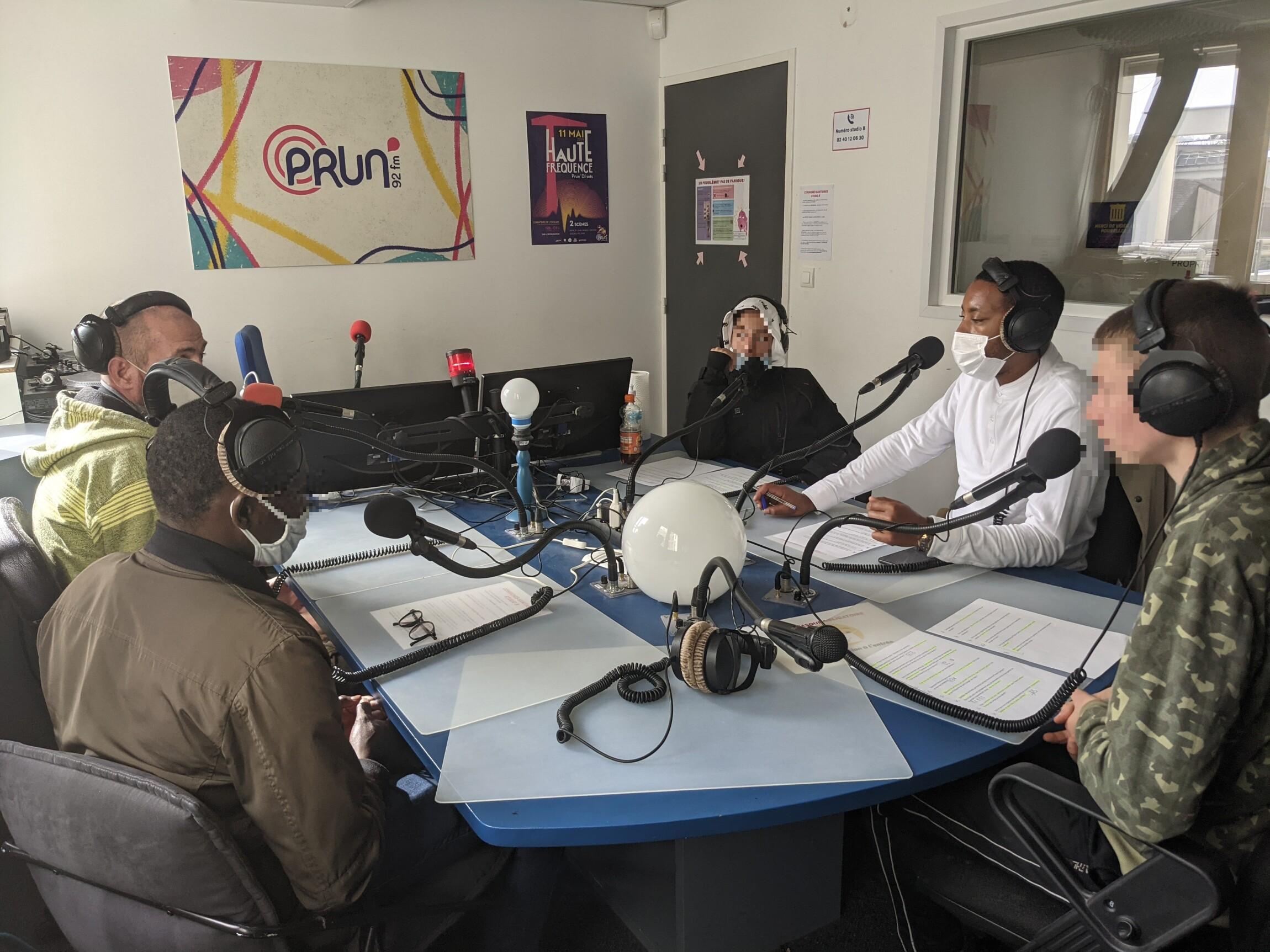 [EDUCATION AUX MEDIAS] Des jeunes de l'Institut Lamoricière aux commandes d'une émission
