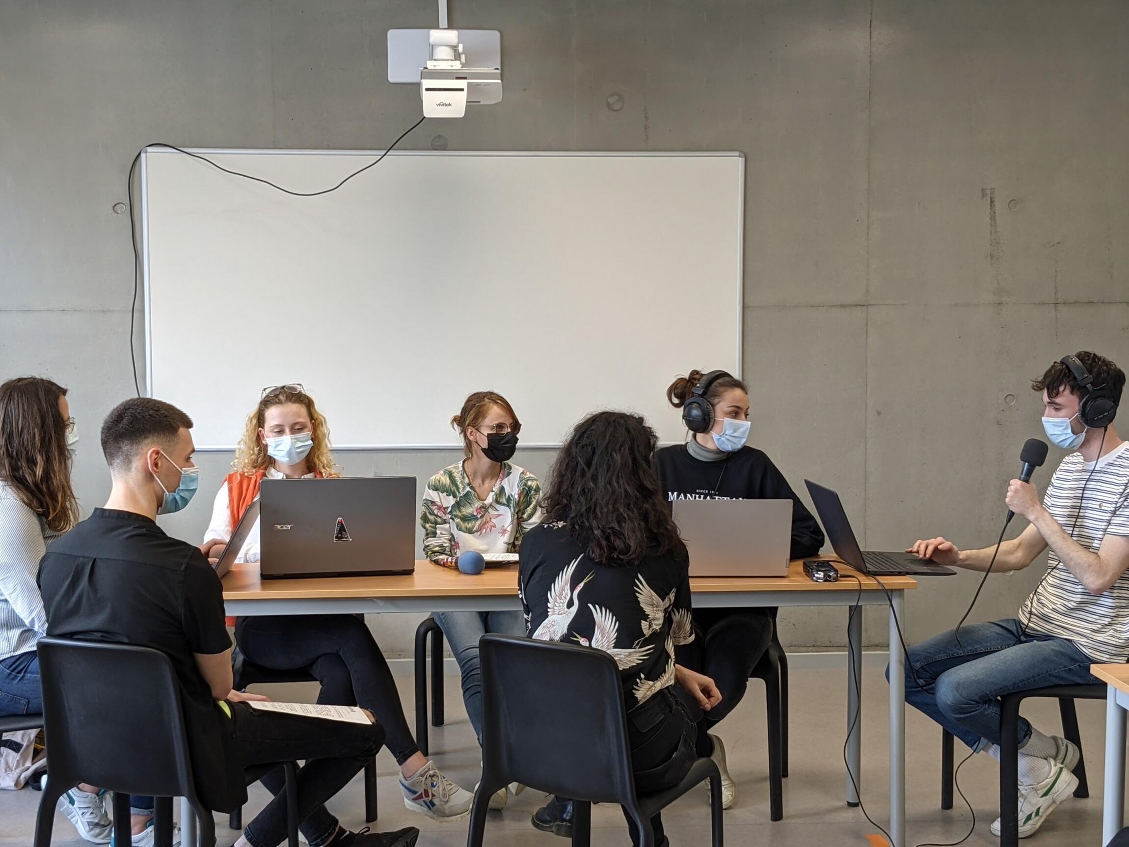 [EDUCATION AUX MEDIAS] L'écologie et les jeunes, les étudiant·e·s et le covid… les élèves de l'IFAG créent leurs émissions